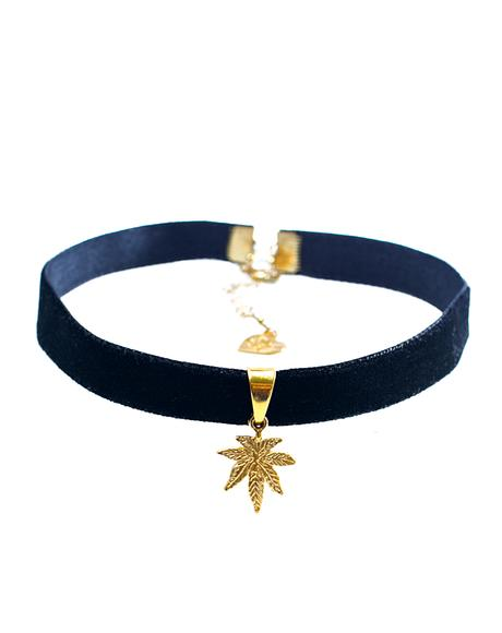 Velvet Mary Jane Choker