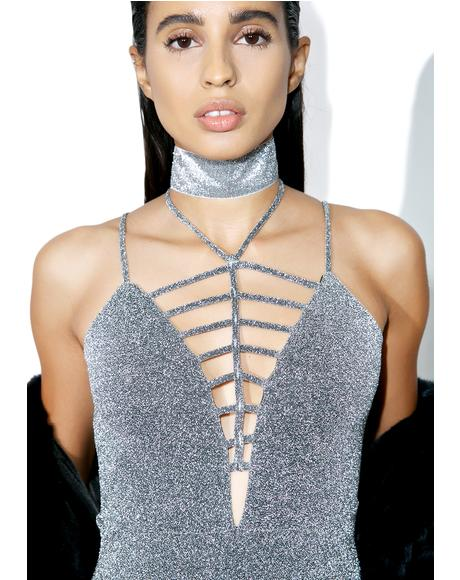Glitter Bitch Mini Dress