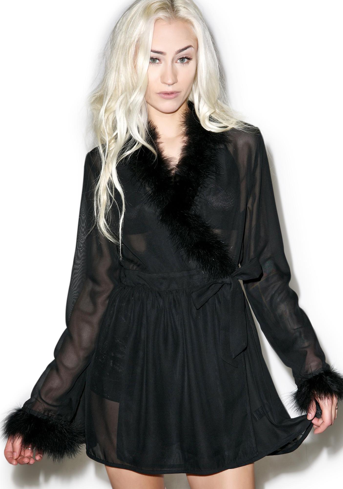 24HRS X Dolls Kill Little Jezebel Robe