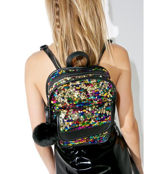 Skinnydip Lulu Sequin Backpack