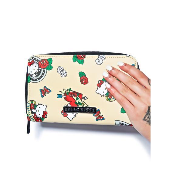 Sanrio Hello Kitty Rose Wristlet