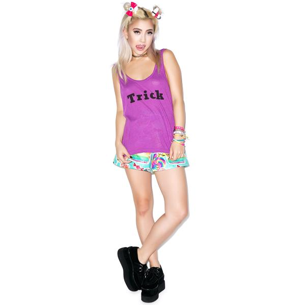 Wildfox Couture Trick or Treat Roadtrip Tank