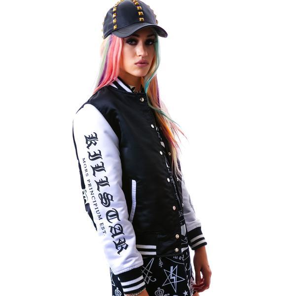 Killstar Hell Yeah Varsity Jacket