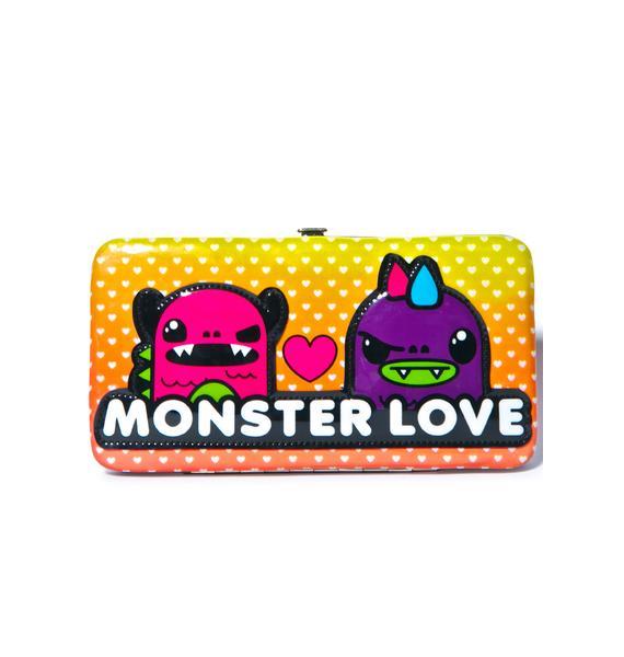 Iron Fist Monster Love Hinge Wallet