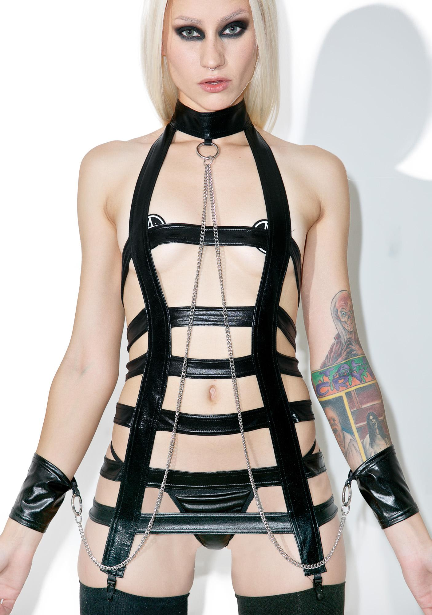 Caged Seduction Bondage Set