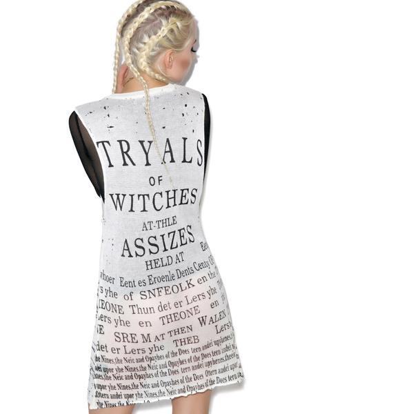 Widow Witch Tryal Top