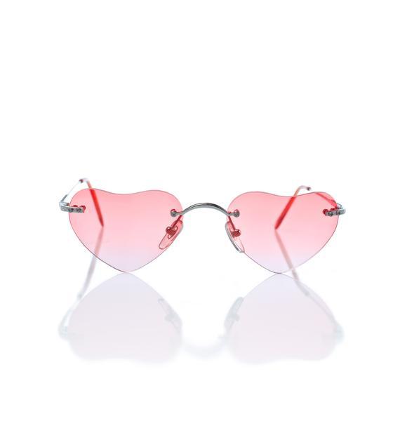 Pink Lolita Sunglasses