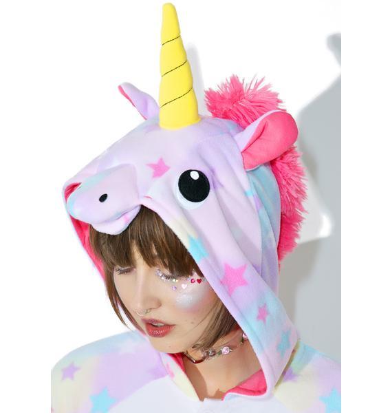 Sazac  Dreamin' Pastel Unicorn Kigurumi