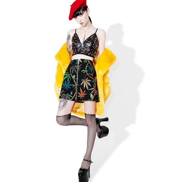 Sativa Zipper Skirt