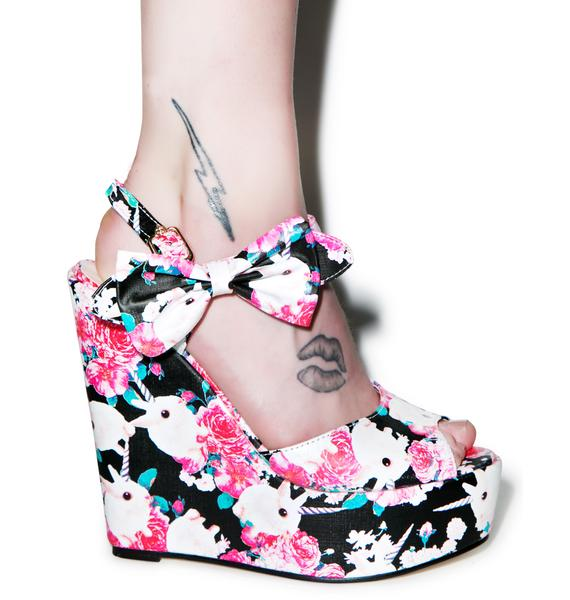 Iron Fist Buns N' Roses Wedges