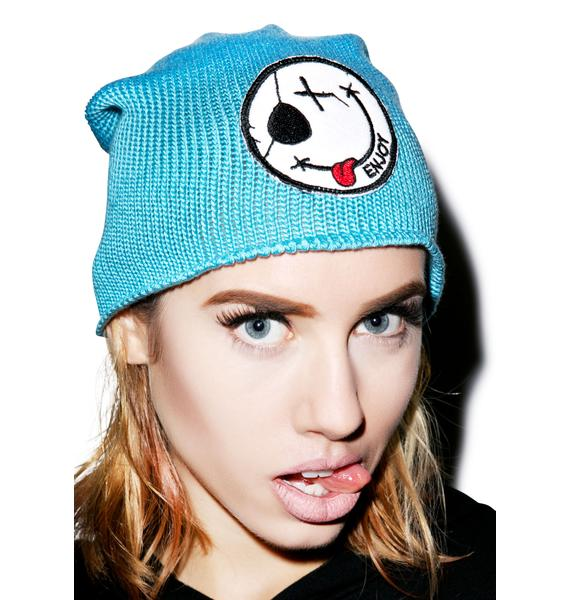Lauren Moshi Dede Enjoy Patch Beanie