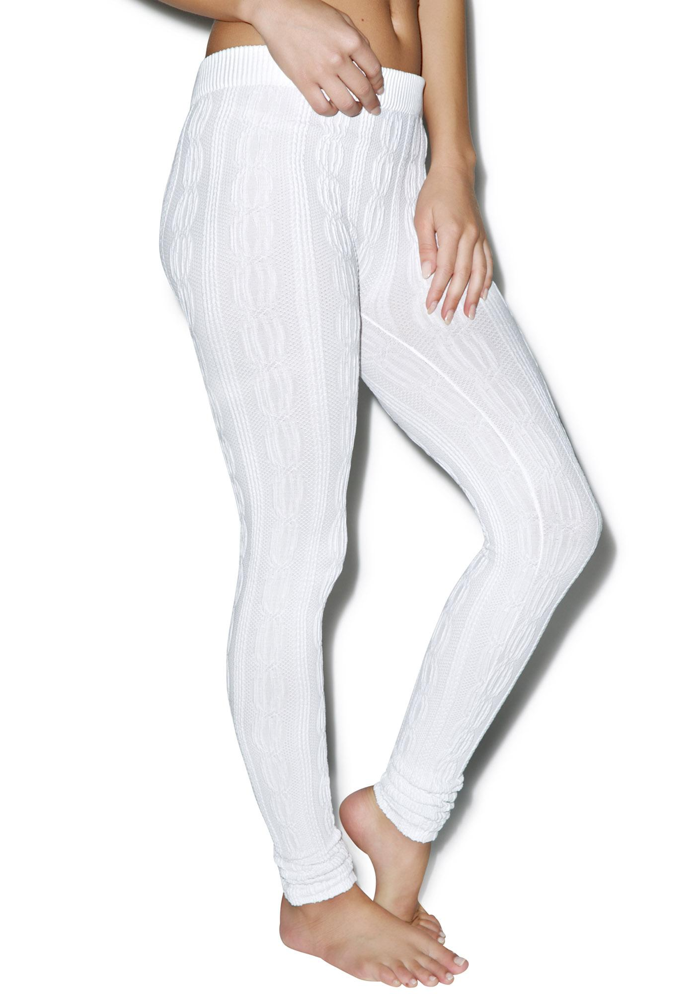 Norwegian Beauty Cable Knit Leggings