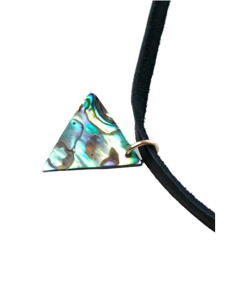 Mother Of Pearl Bolo Necklace