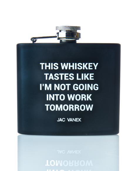 Whiskey Wildin' Flask