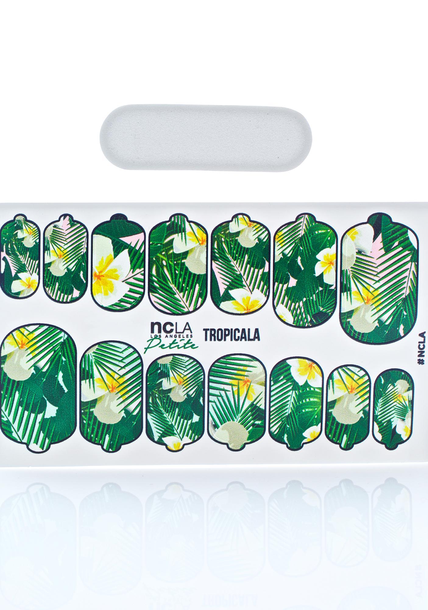NCLA Tropicala Petite Nail Wraps