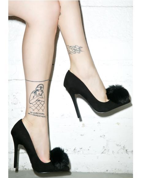 Trina Naughty Puff Heels