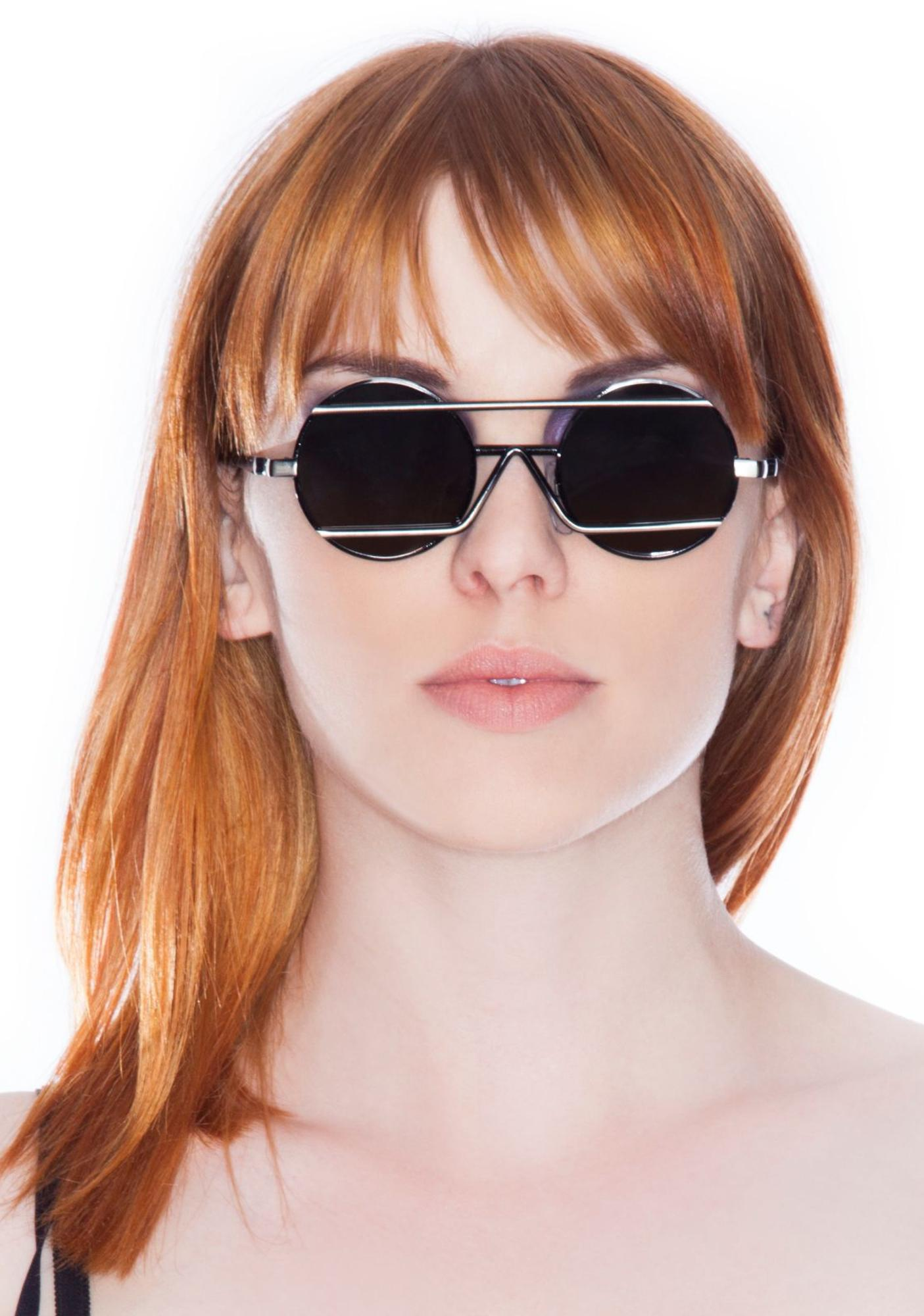 Peekabooda Triangle Bar Vintage Deadstock Sunglasses