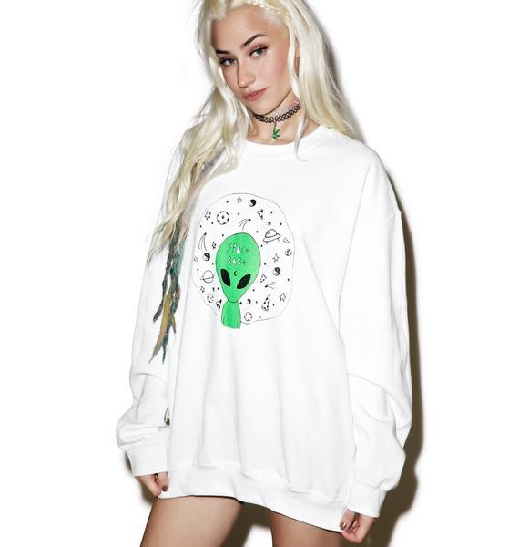 Space Babe Sweatshirt