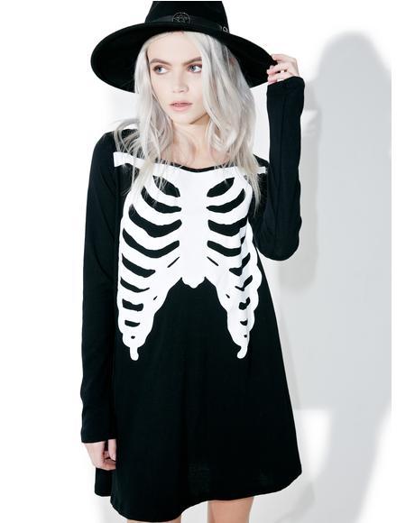 Wishbone Trapeze Dress