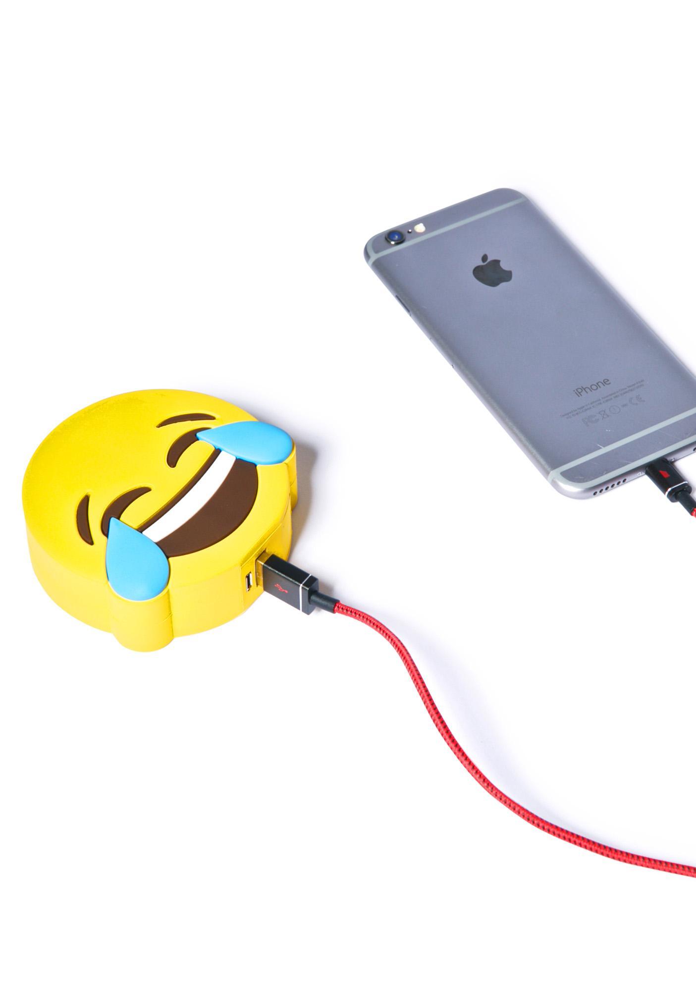 Wattzup Laughing Emoji Power Bank