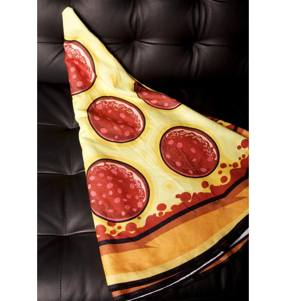 Pizza Party Beach Towel
