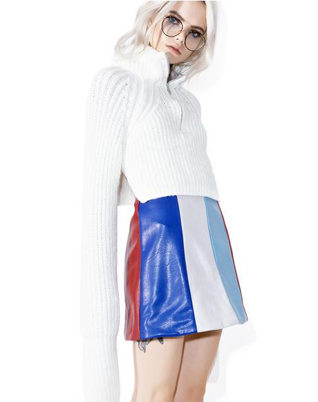 Mod-ern Girl Mini Skirt