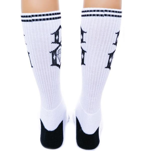 Rebel8 Logo Socks