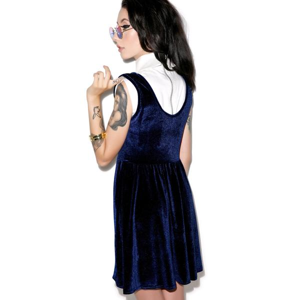 United Couture Cry Baby Velvet Dress