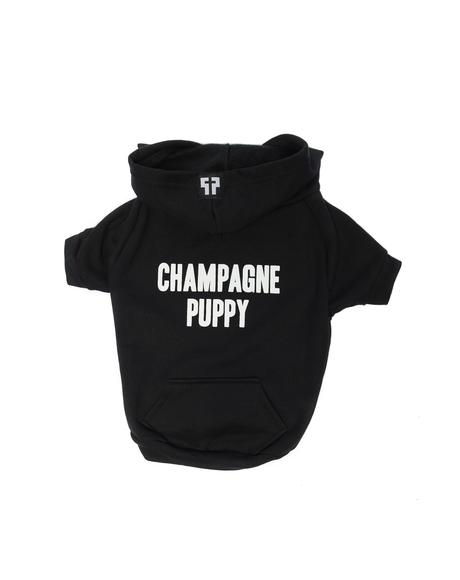 Champagne Puppy Dog Hoodie