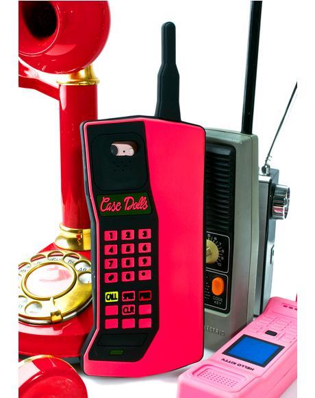 Brick Phone iPhone Case