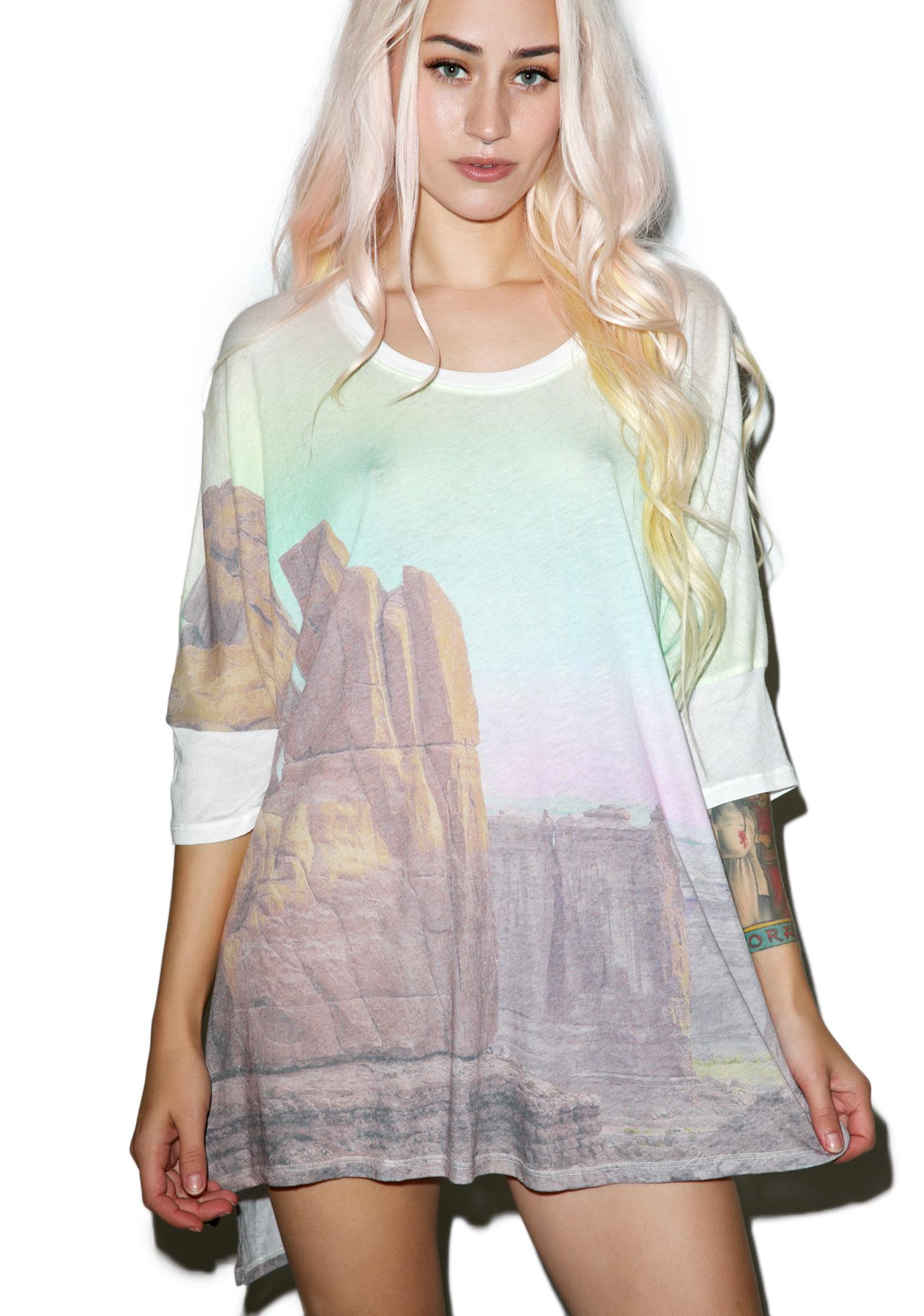 Wildfox Couture Canyon Sunset Sunny Morning Tee