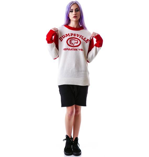 UNIF Dumpsville Sweater