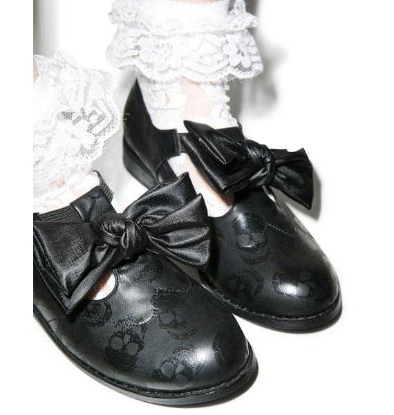 Iron Fist Ashes To Ashes Bow Oxfords