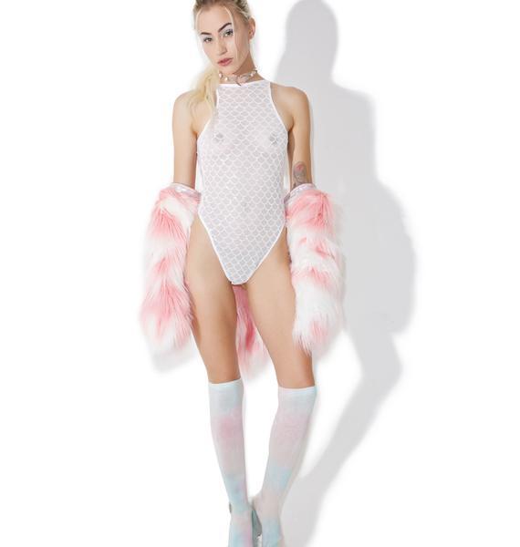 Jaded London Mermaid Glitter Bodysuit