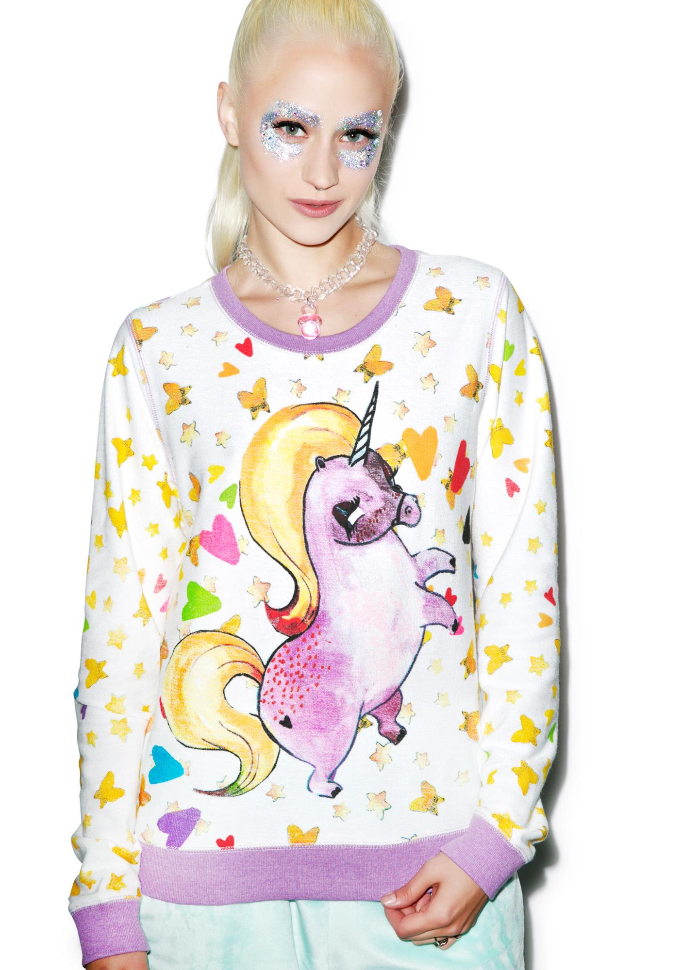 Iron Fist Pony Pullover Crew Neck