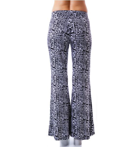 Wild Out Flared Pants
