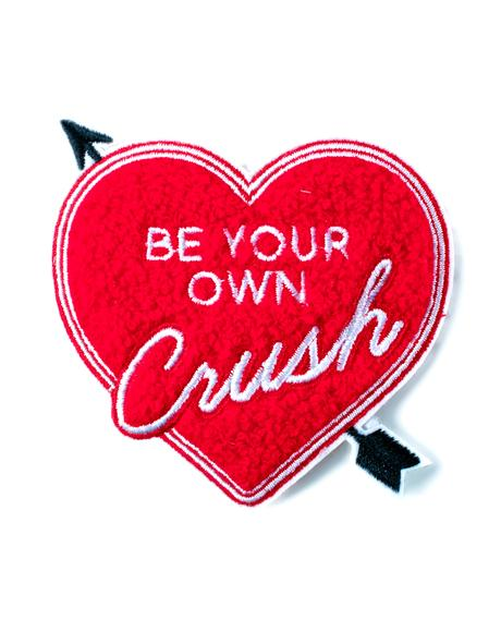 Be Your Own Crush Chenille Patch
