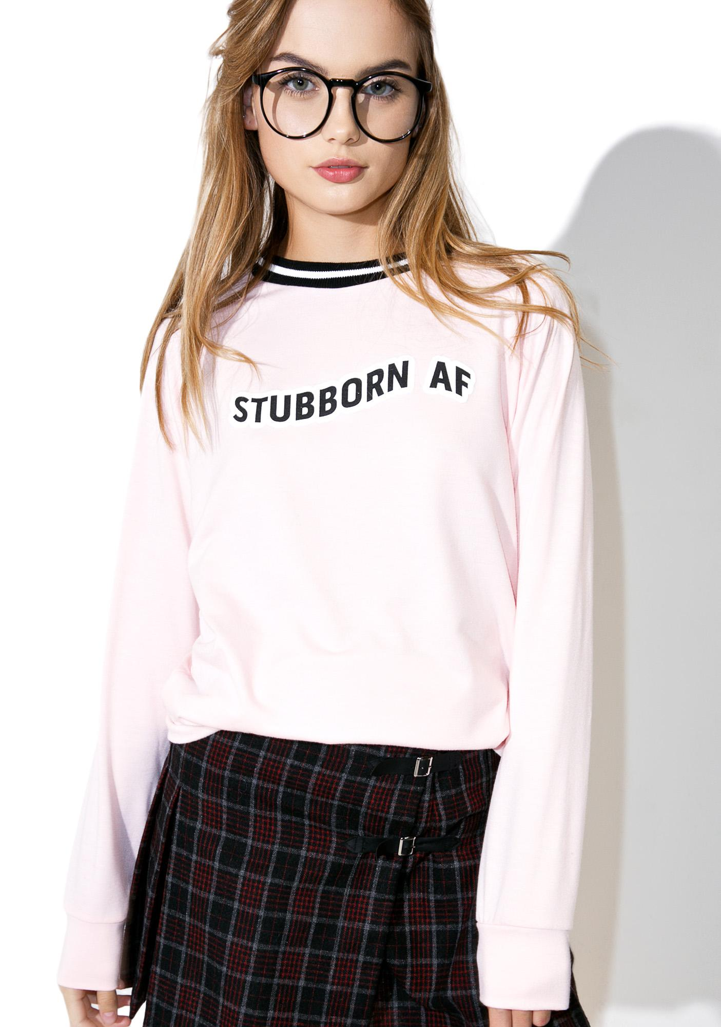 Valfré X Dolls Kill Stubborn AF Pullover