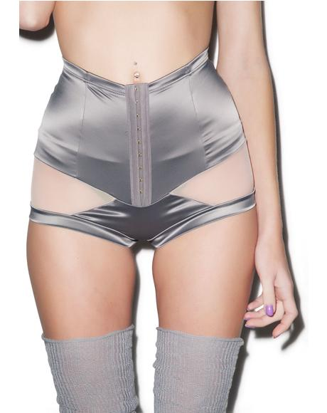 Stripe Illusion High Waist Panty
