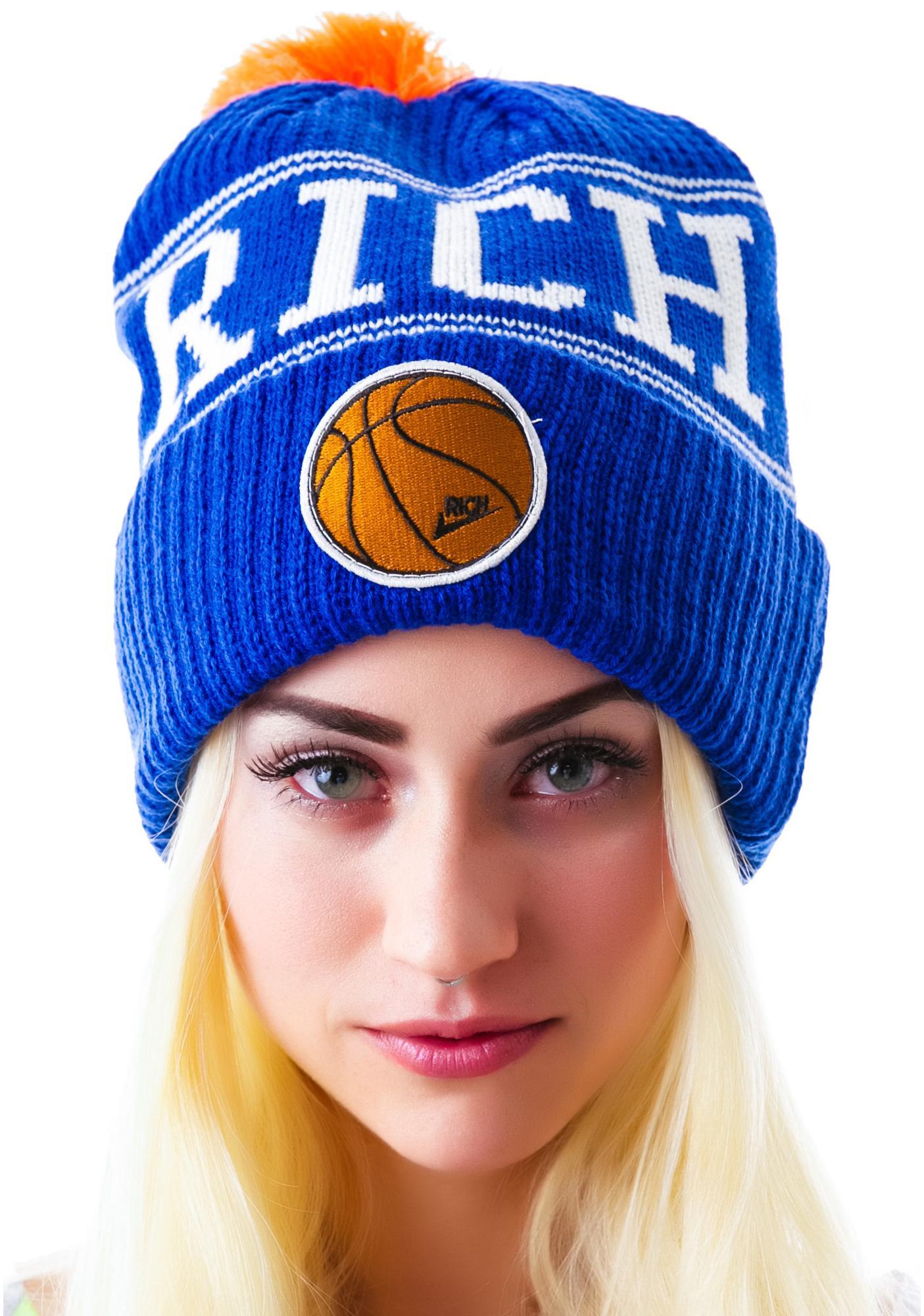 Joyrich Basketball Logo Beanie