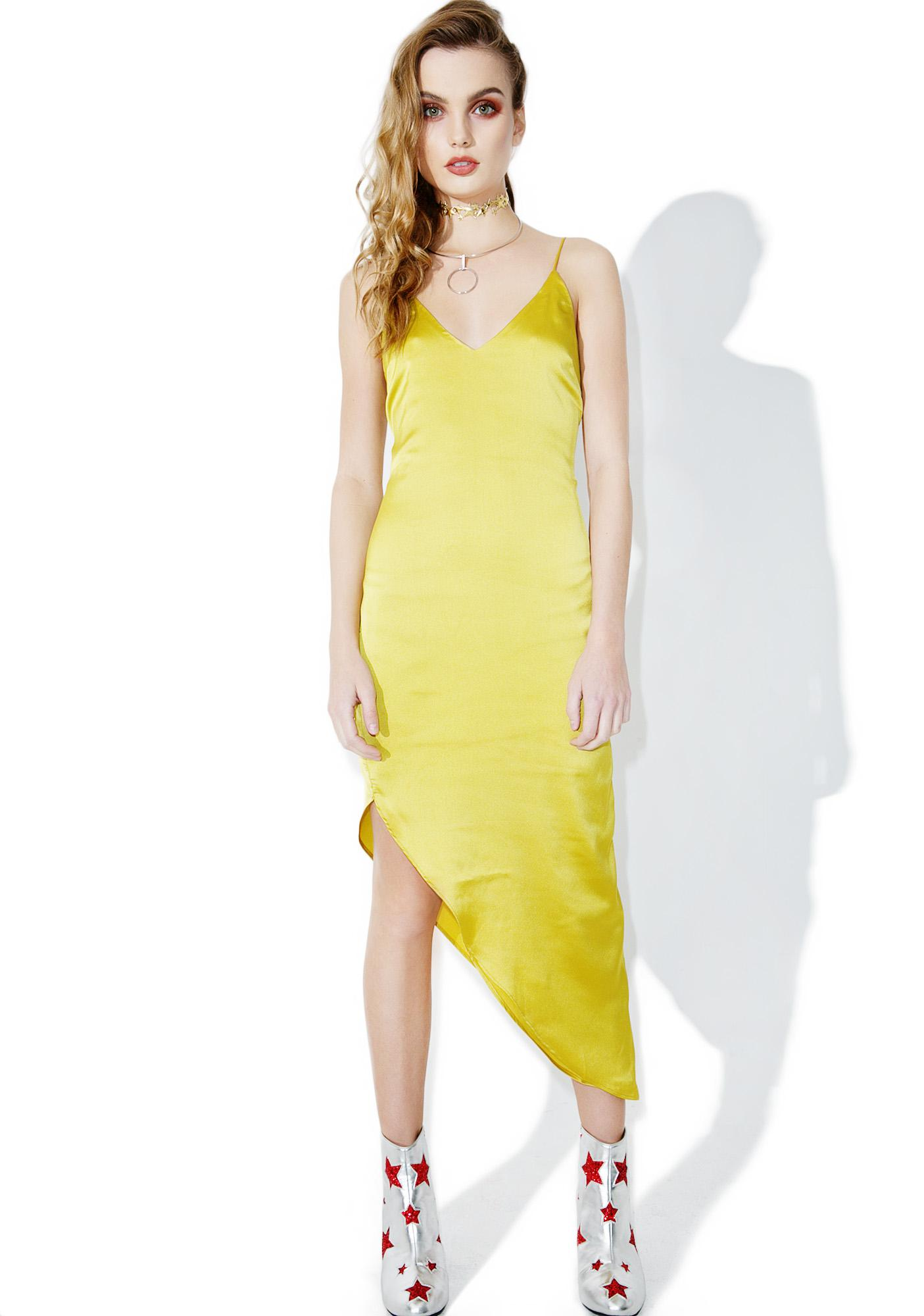 Golden Sun Slip Dress