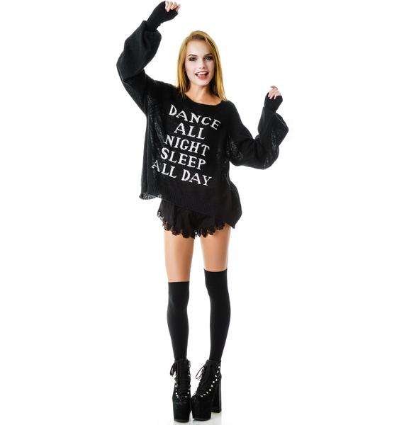 Wildfox Couture Dance All Night Pfeiffer Sweater