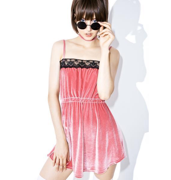 Valfré Argy Velvet Dress