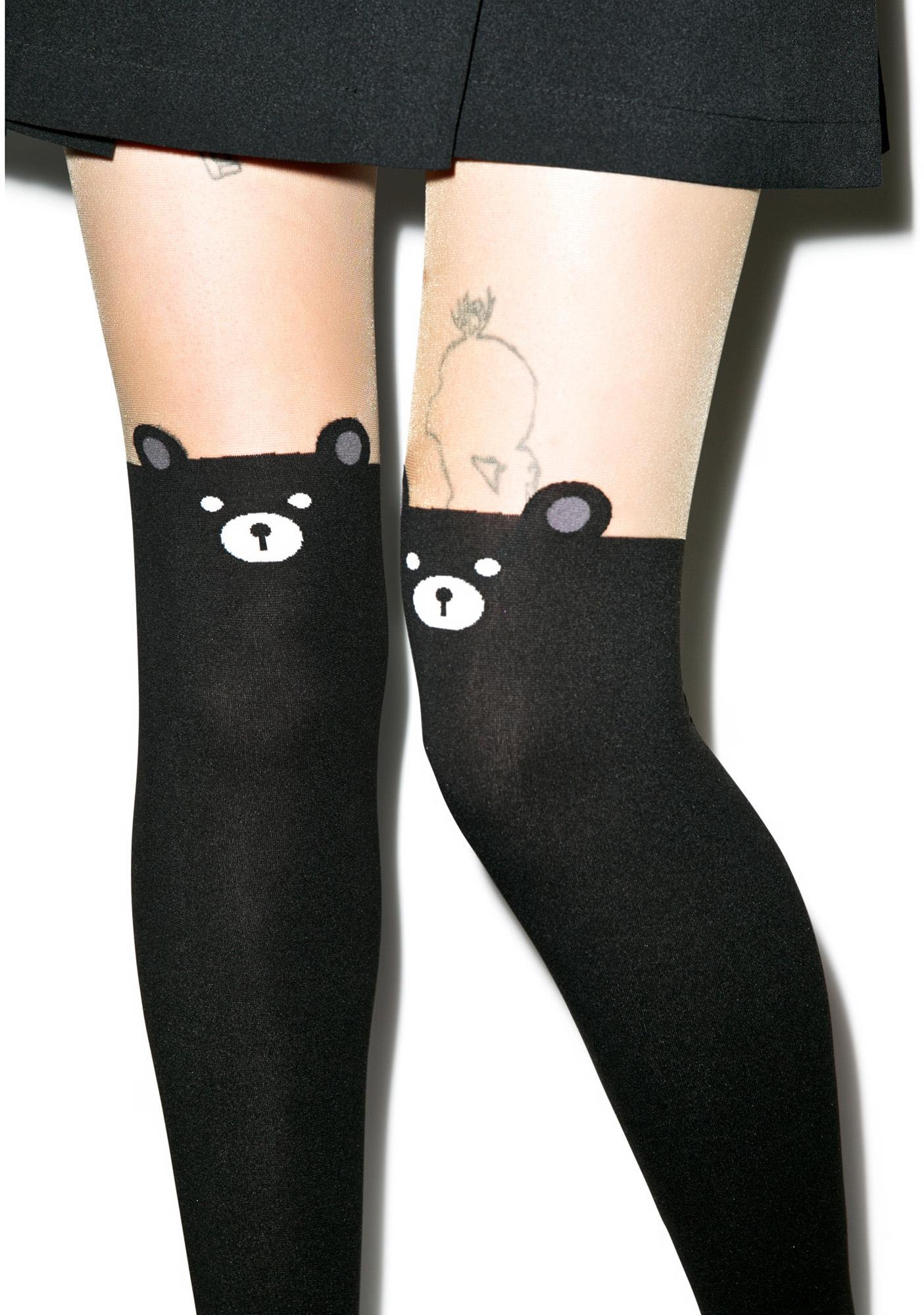 Kiyokuma Bear Tights