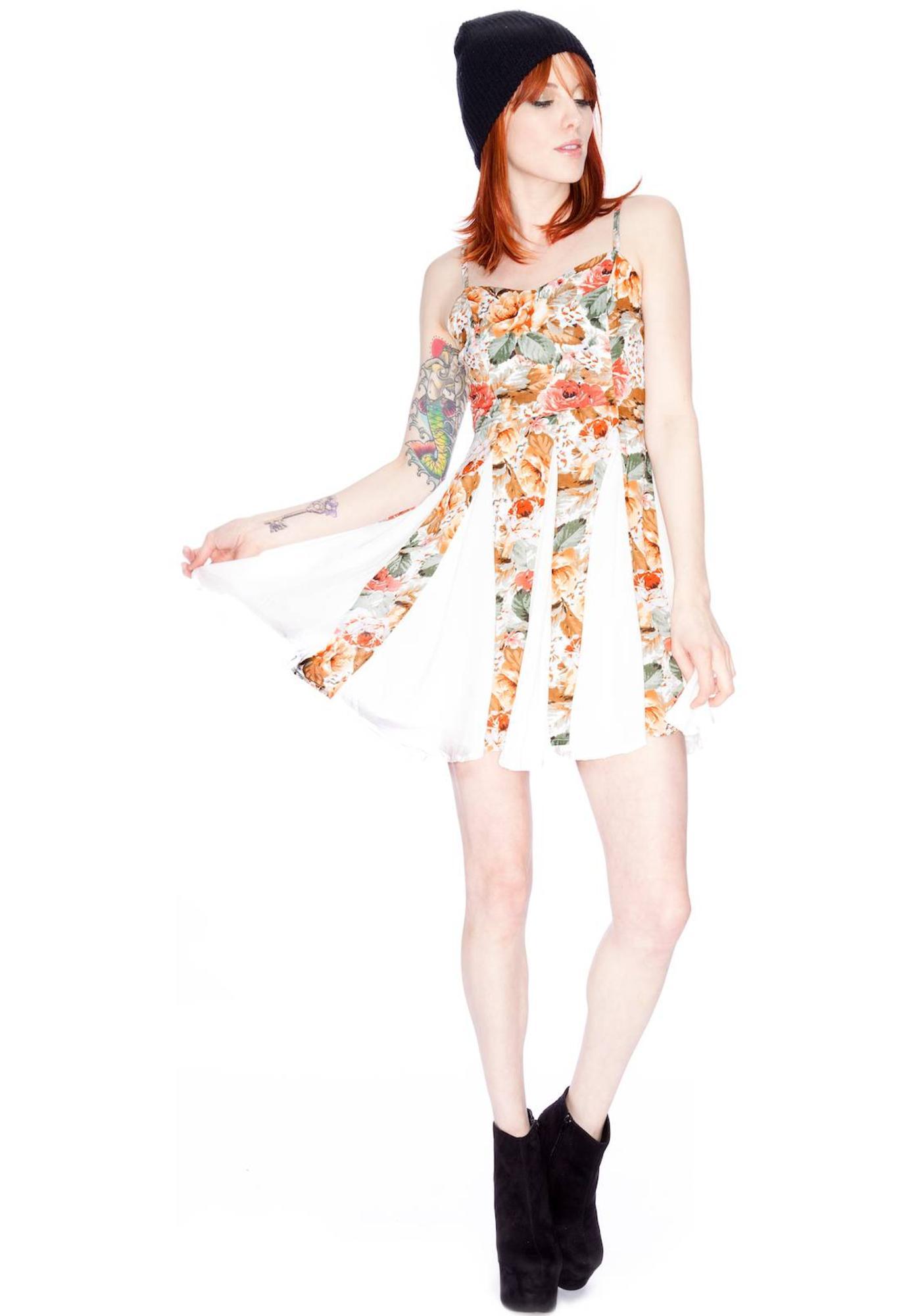 Minkpink Four Seasons Panelled Dress