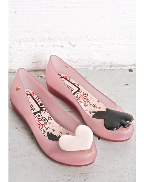 Queen Ultragirl Alice In Wonderland Flats
