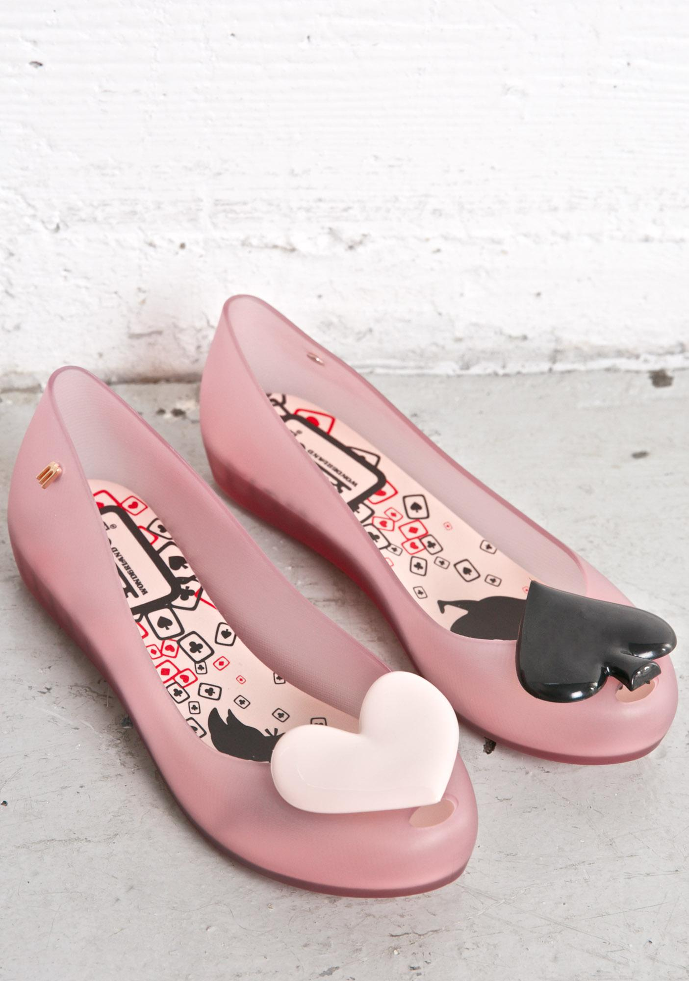 Melissa Queen Ultragirl Alice In Wonderland Flats