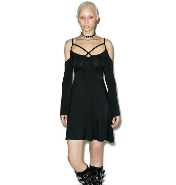 Killstar Seance Skater Dress