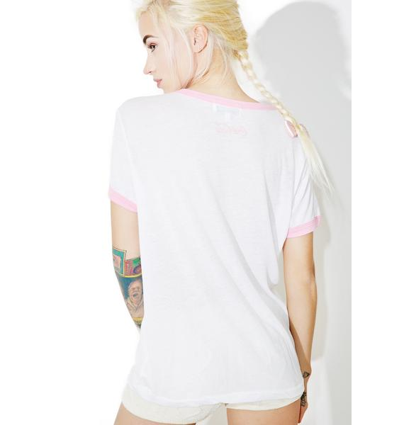 Wildfox Couture Diet Coke Vintage Ringer Tee