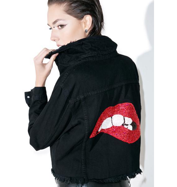 Hott Gossip Denim Jacket